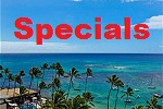 vacation rental specials