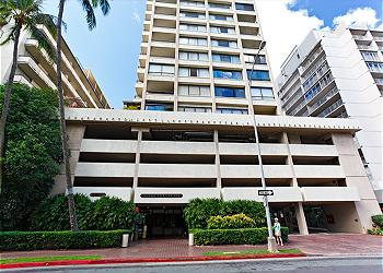 Aloha Towers in Waikiki