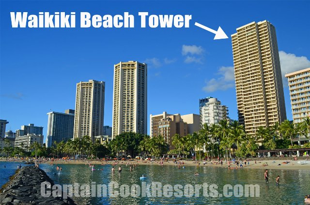 Waikiki Beach Tower Condo Sales