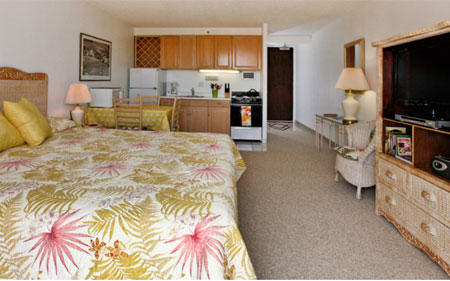 Waikiki Vacation Rental Studio at Marine Surf