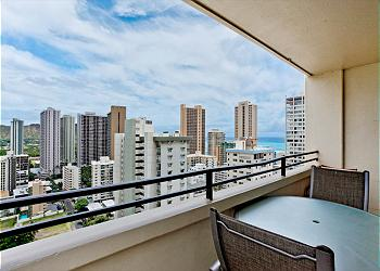 Waikiki Skytower view