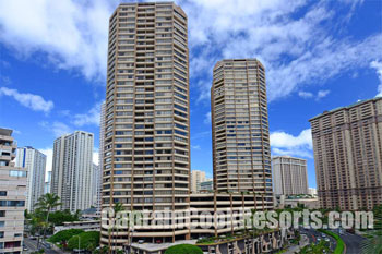 Discovery Bay Building in Waikiki