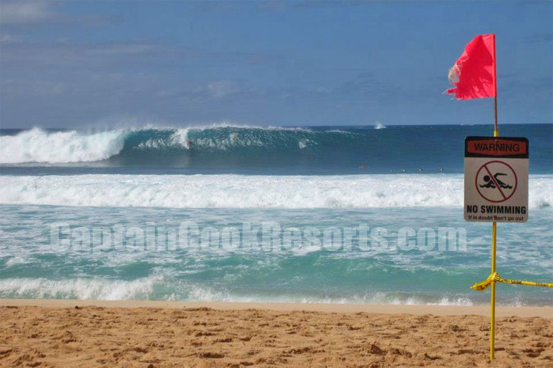 Northshore waves during Winter