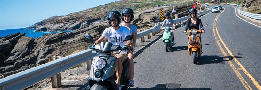 moped rentals Hawaiian Style Waikiki