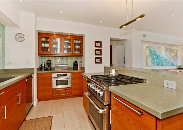 Kitchen at Waikiki Shore Rental